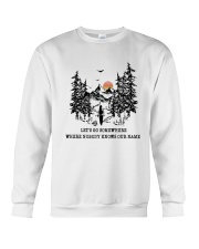 Lets Go Somewhere Crewneck Sweatshirt thumbnail
