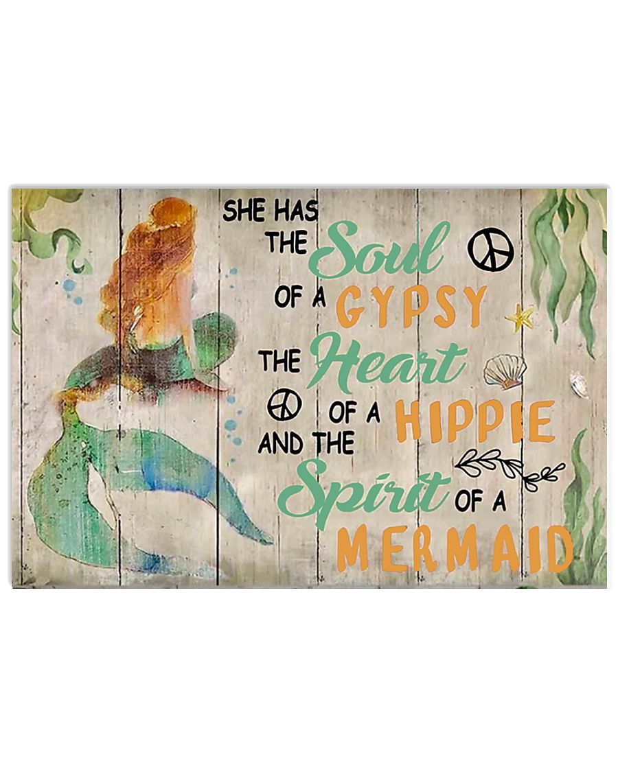 She Has The Soul Of A Gypsy 17x11 Poster
