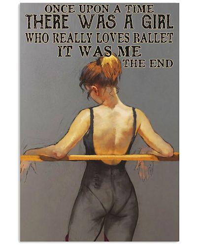 Girl Really Loves Ballet