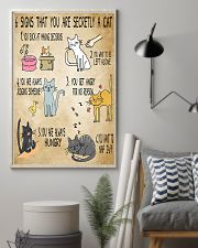 6 Signs That You're Secretly A Cat  11x17 Poster lifestyle-poster-1