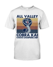 All Valley Cobra Kai Classic T-Shirt front