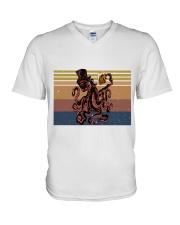 Octopus Beer V-Neck T-Shirt thumbnail