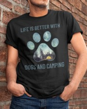 Dogs And Camping Classic T-Shirt apparel-classic-tshirt-lifestyle-26