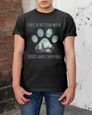 Dogs And Camping Classic T-Shirt apparel-classic-tshirt-lifestyle-31
