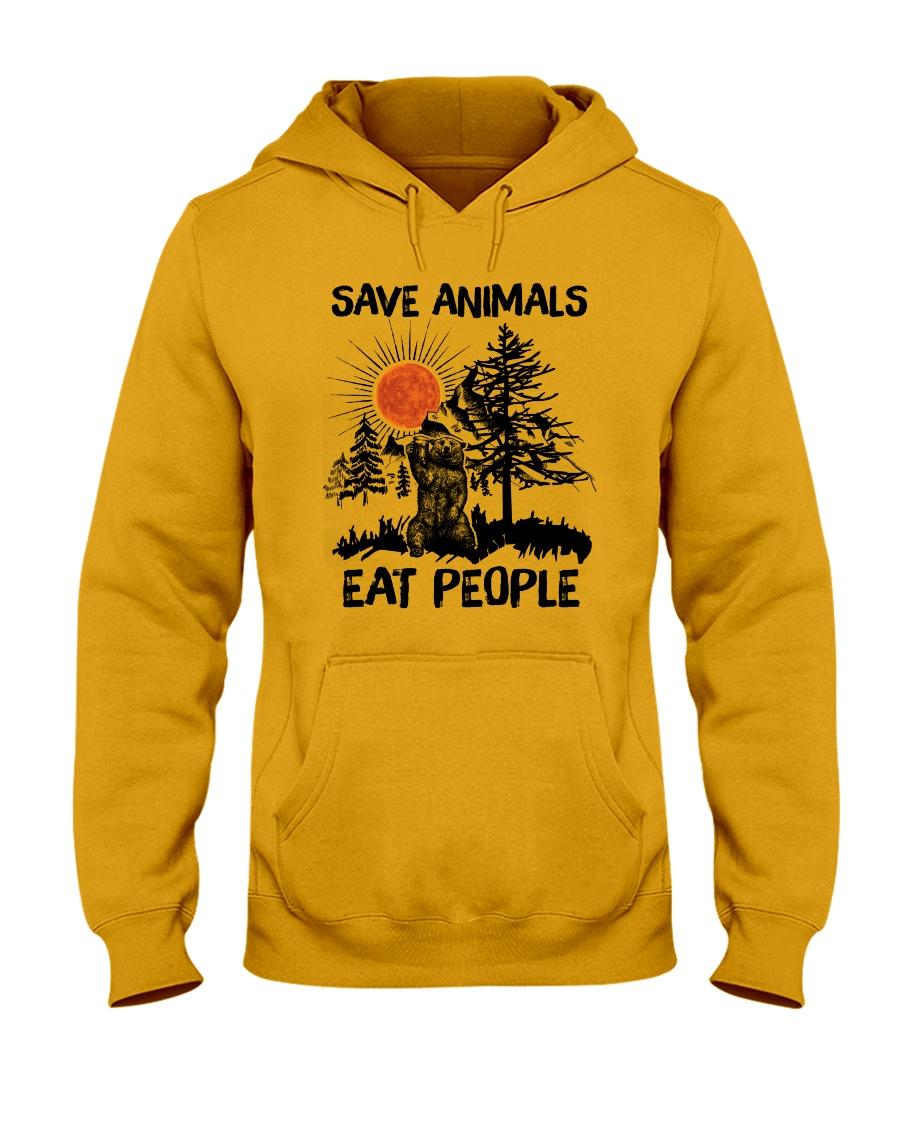 Save Animals Hooded Sweatshirt