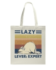 Lazy Lever Expert Tote Bag thumbnail