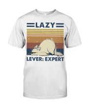 Lazy Lever Expert Premium Fit Mens Tee thumbnail