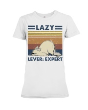 Lazy Lever Expert Premium Fit Ladies Tee thumbnail
