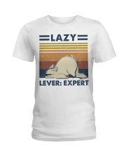 Lazy Lever Expert Ladies T-Shirt thumbnail