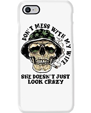 Don't Mess With My Wife Phone Case thumbnail