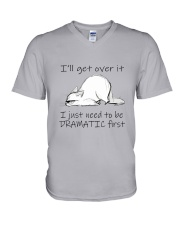 I Will Get Over It V-Neck T-Shirt thumbnail