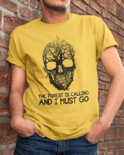 The Forest Is Calling Classic T-Shirt apparel-classic-tshirt-lifestyle-26