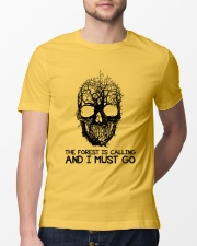 The Forest Is Calling Classic T-Shirt lifestyle-mens-crewneck-front-13