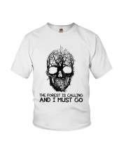 The Forest Is Calling Youth T-Shirt thumbnail