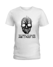 The Forest Is Calling Ladies T-Shirt thumbnail