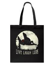 Live Laugh Lurk Tote Bag thumbnail