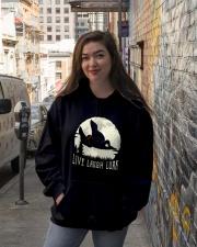 Live Laugh Lurk Hooded Sweatshirt lifestyle-unisex-hoodie-front-1