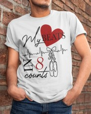 My Beats In 8 Counts Classic T-Shirt apparel-classic-tshirt-lifestyle-26