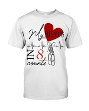 My Beats In 8 Counts Classic T-Shirt front