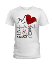My Beats In 8 Counts Ladies T-Shirt thumbnail