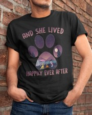 She Lived Happily Ever After Classic T-Shirt apparel-classic-tshirt-lifestyle-26