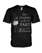 If You Stumble V-Neck T-Shirt thumbnail
