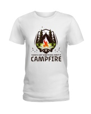 A Campfire Ladies T-Shirt thumbnail