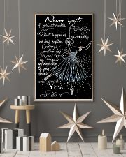 Never Quit 11x17 Poster lifestyle-holiday-poster-1