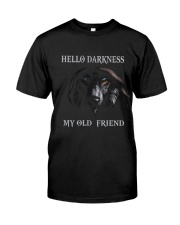 Hello Darkness My Old Friend Premium Fit Mens Tee thumbnail