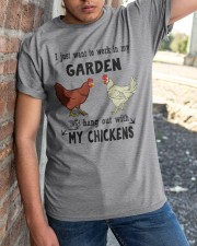 I Just Want To Work In My Garden Classic T-Shirt apparel-classic-tshirt-lifestyle-27