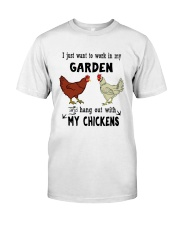I Just Want To Work In My Garden Premium Fit Mens Tee thumbnail