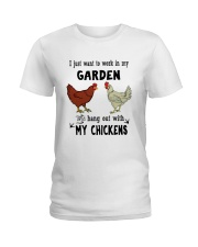 I Just Want To Work In My Garden Ladies T-Shirt thumbnail