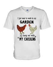 I Just Want To Work In My Garden V-Neck T-Shirt thumbnail