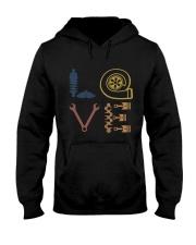 Love Auto Mechanic Hooded Sweatshirt thumbnail