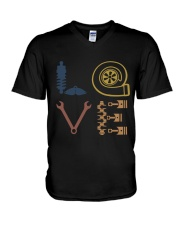 Love Auto Mechanic V-Neck T-Shirt thumbnail