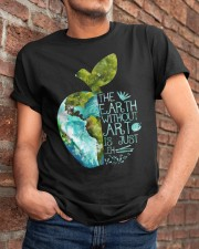 The Earth Without Art Classic T-Shirt apparel-classic-tshirt-lifestyle-26
