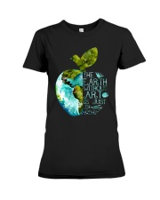 The Earth Without Art Premium Fit Ladies Tee thumbnail