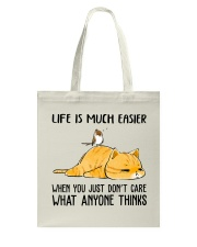 Life Is Much Easier Tote Bag thumbnail