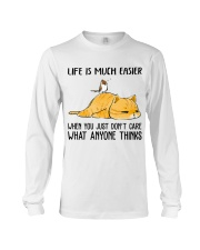 Life Is Much Easier Long Sleeve Tee thumbnail