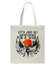 Lets Just Go Tote Bag thumbnail