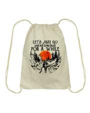 Lets Just Go Drawstring Bag thumbnail