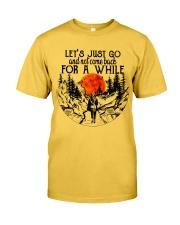 Lets Just Go Classic T-Shirt thumbnail