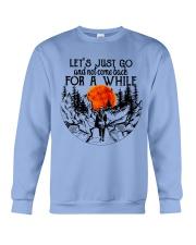 Lets Just Go Crewneck Sweatshirt thumbnail