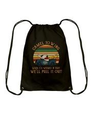 Camel To Wing Drawstring Bag thumbnail