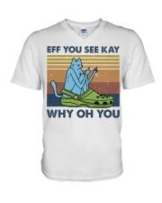 Eff You See Kay V-Neck T-Shirt thumbnail