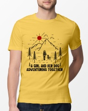 A Girl And Her Dog Classic T-Shirt lifestyle-mens-crewneck-front-13