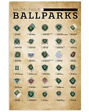 Major League Ballpark 11x17 Poster front