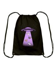 Space Kitties Drawstring Bag thumbnail