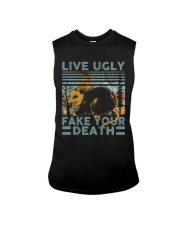 Live Ugly Fake Your Death Sleeveless Tee thumbnail