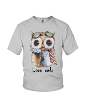 Love Owls Youth T-Shirt tile